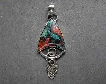 Sonoran Sunrise Sterling Silver Pendant