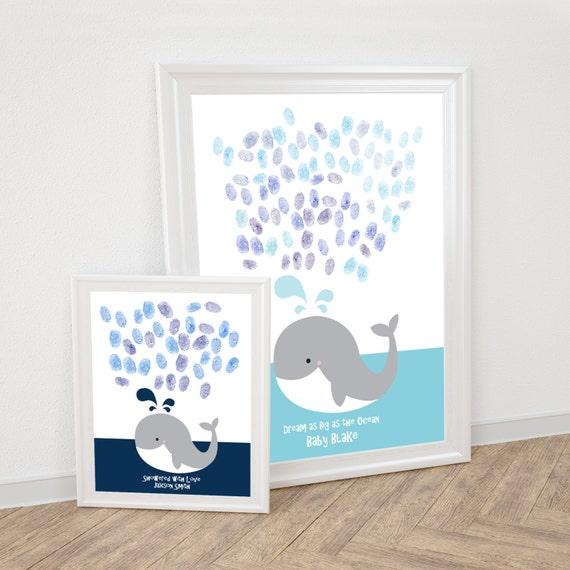 baleine dempreintes digitales livre dor fichier imprimable. Black Bedroom Furniture Sets. Home Design Ideas