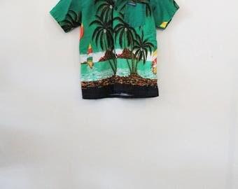 KIDS! 80's Tropical Shirt