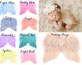 Baby Angel Wings Ready To Ship Great Newborn By Chicabootique