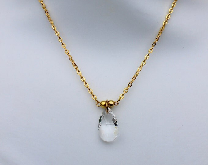 Swarovski Crystal Necklace. Made to order.