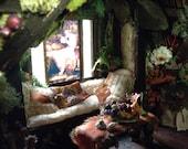 Poppy's Cottage II  Fairy Dollhouse Custom Order for the Hopelessly Enchanted