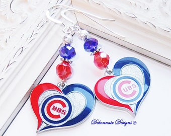 "Shop ""chicago cubs jewelry"" in Earrings"