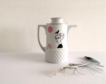 Vintage teapot with Josephine #16131