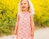 Chloe Drawstring Top Dress (Sizes 6/9 months to 6) PDF Sewing & Tutorial