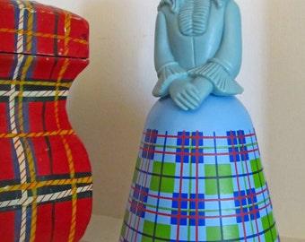 Avon Scottish Lass figurine cologne bottle