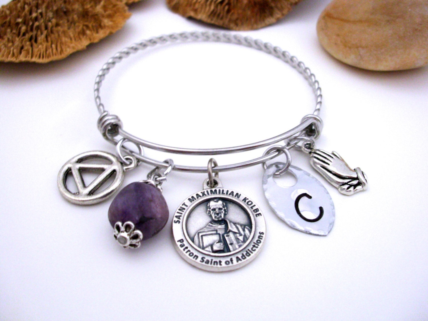 alcoholic addiction recovery aa jewelry 12 step help new
