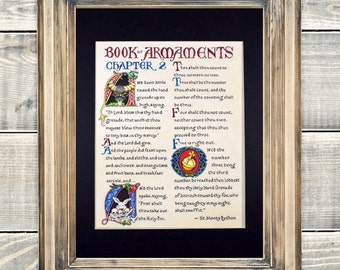 Monty Python Holy Hand Grenade of Antioch, Reading from the Book of Armaments Fine Art Print