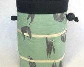 Chalk bag, Climbing Chalk Bag, Chalk bag Climbing, Rock Climbing Chalk bag, Climbing Gear, Sloths Hanging Around, Green