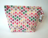 Hot air balloons knitting/spinning/crochet/crafting project bag
