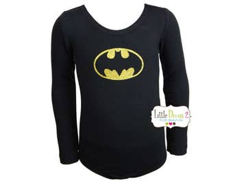 Batman Leotard(Child) Long Sleeve Leotard