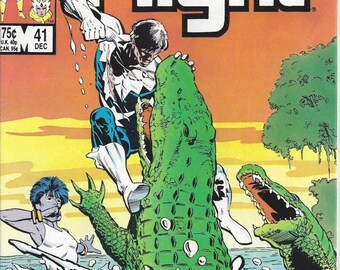 Alpha Flight Marvel Vintage Comic Book, C1986