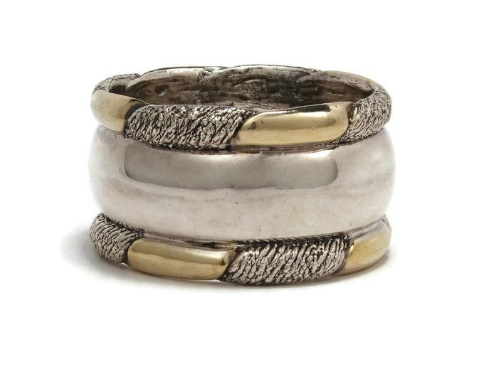 Vintage Electroform Sterling Silver Bracelet Signed LeBitski
