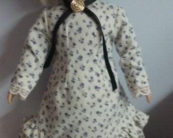 Prairie Dress for american girl 18 inch doll