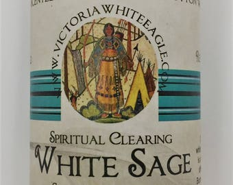 White Sage 13.oz Soy Smudging Candle