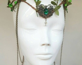 Butterfly tiara - elven crown