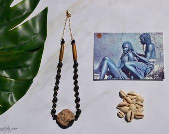 Abiona tribal necklace african jewlery tribal jewelry ethnic jewelry afrocentric jewelry afrocentric necklace african necklace ethnic africa