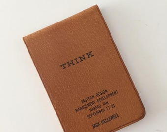 Vintage IBM Think Notepad