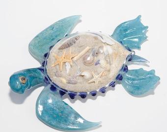 Blown Glass Sea Turtle