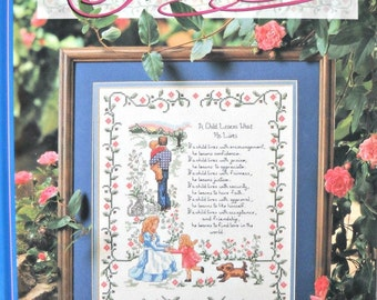 Timeless Treasures Cross Stitch Book, By The Needlecraft Shop,  Vintage 1996