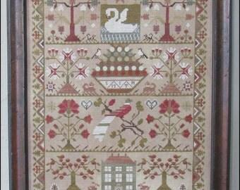 NEW Smith Sampler Nashville Market 2017 The Scarlett House cross stitch patterns quaker reproduction sampler