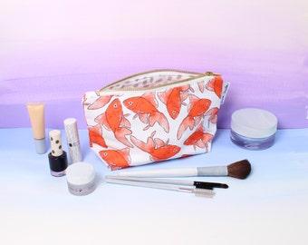 Goldfish Makeup Bag