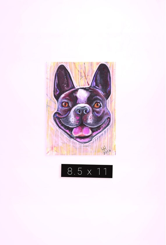Custom Pet Portrait / 8.5 x 11