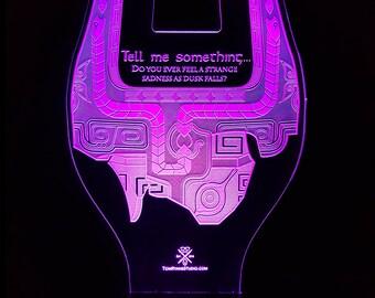 Twilight Princess LED Laser Etched Light Stand