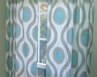Made to Order Window Drapes, Made to Order Curtain Panels, 25 X 84 Inches, Made to Order Nursery Curtains