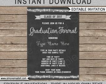 Formal invitation | Etsy