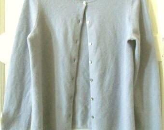 Cashmere Cardigan Sweater S