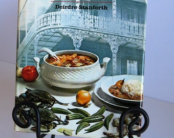 New Orleans Restaurant Cookbook by Deirdre Stanforth Famous Restaurants Louisiana Cajun Creole Recipes 1967 Hardback Collectible Cook Book