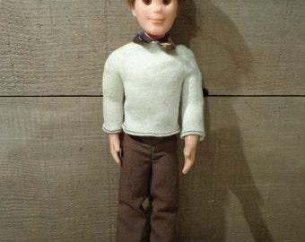 Vintage 1973 Sunshine Family Steve Dad Doll Mattel