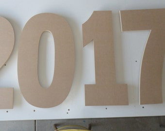 2017 Cupcake Stand 2017 sign Graduation Cupcake Stand New Years cupcake Stand Anniversary Year cupcake Stand  Number Letter Stand