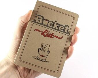 "Small Notebook ""Bucket List"""
