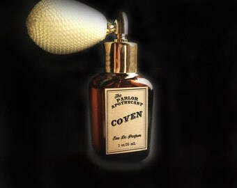 Coven Perfume Spray - Eau De Parfum  - Atomizer Amber Glass Bottle -1 oz