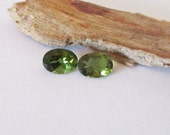 Himalaya Mine Green Tourmaline 7x5mm Pair  1.40cts