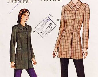 Very Easy Vogue 7526 Misses Jacket and Pants