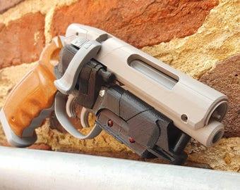 Blade Runner LAPD 2019 Blaster - 3D Printed Replica, Rick Deckard's Gun