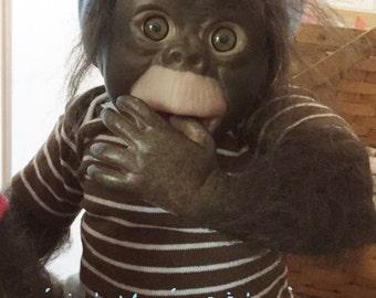 Baby Monkey Newborn Size 18 inch Baby Adopt A Monkey Sweet Chimp