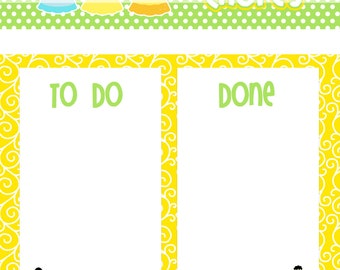 Printable Chore Chart - Instant Download - Princess 1 Reward Chart -  To Do and Done Sheet