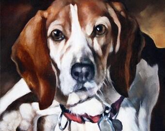 Custom Pet Portrait, Dog Portrait, Animal Art, Custom Paintings, Oil Painting, 12x12