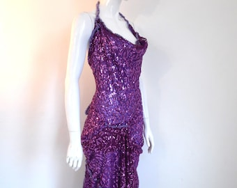 BURBO 'Delicate Savage' Deluxe sequin dress