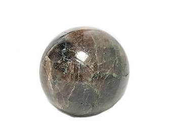 Andalusite Chiastolite Crusader Cross Semiprecious Gemstone Polished Mineral Marble