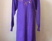 Jeweled Purple Dress / Vt...