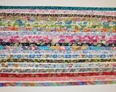 Bundle 4 - Liberty of London Tana Lawn fabric, bias tape - 20 half yards - Sale!