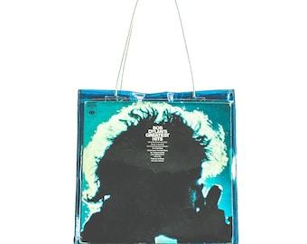Vinyl LP Tote - Blue
