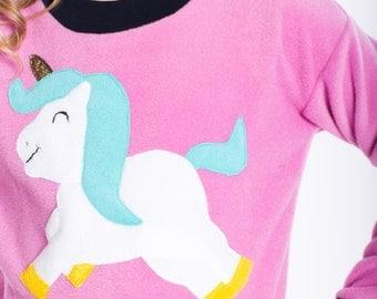 unicorn sweater, kids sweater, pink sweater, unicorn short, unicorn sweater kids, sweater for girls, kids gift, unicorn sweatshirt