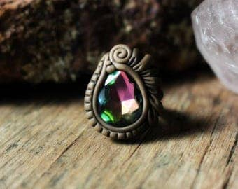 Clay Ring - Prism Glass - Fully Adjustable