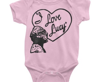 Anthropologist baby shower gift, Anthropology pun, I love Lucy